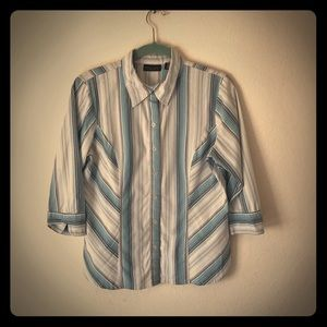 Apostrophe Button Down Shirt